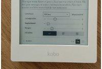 Lettergrootte en lettertype instellen op een e-reader