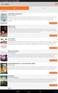 VakantieBied: overzicht van boeken
