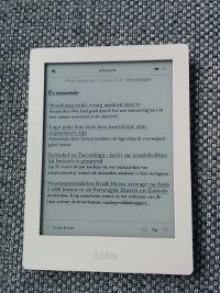 Digitaal krant lezen op je e-reader - inhoudsopgave