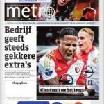 Metro: gratis digitaal krant lezen