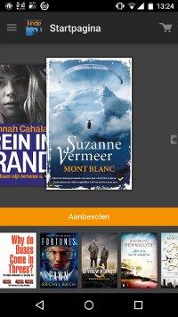 De Kindle app van Amazon