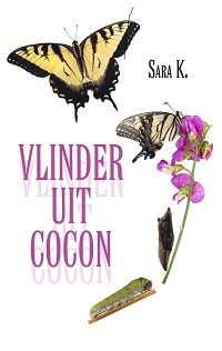 Vlinder uit cocon van Sara Knockaert