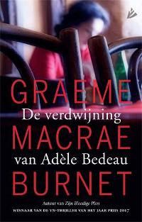 De verdwijning van Adele Bedeau van Graeme Macrae Burnet